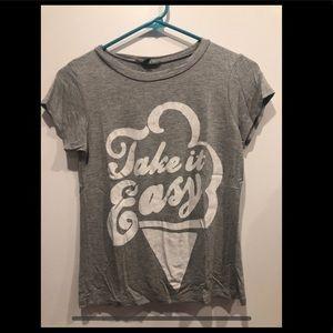 Gray super soft t-shirt